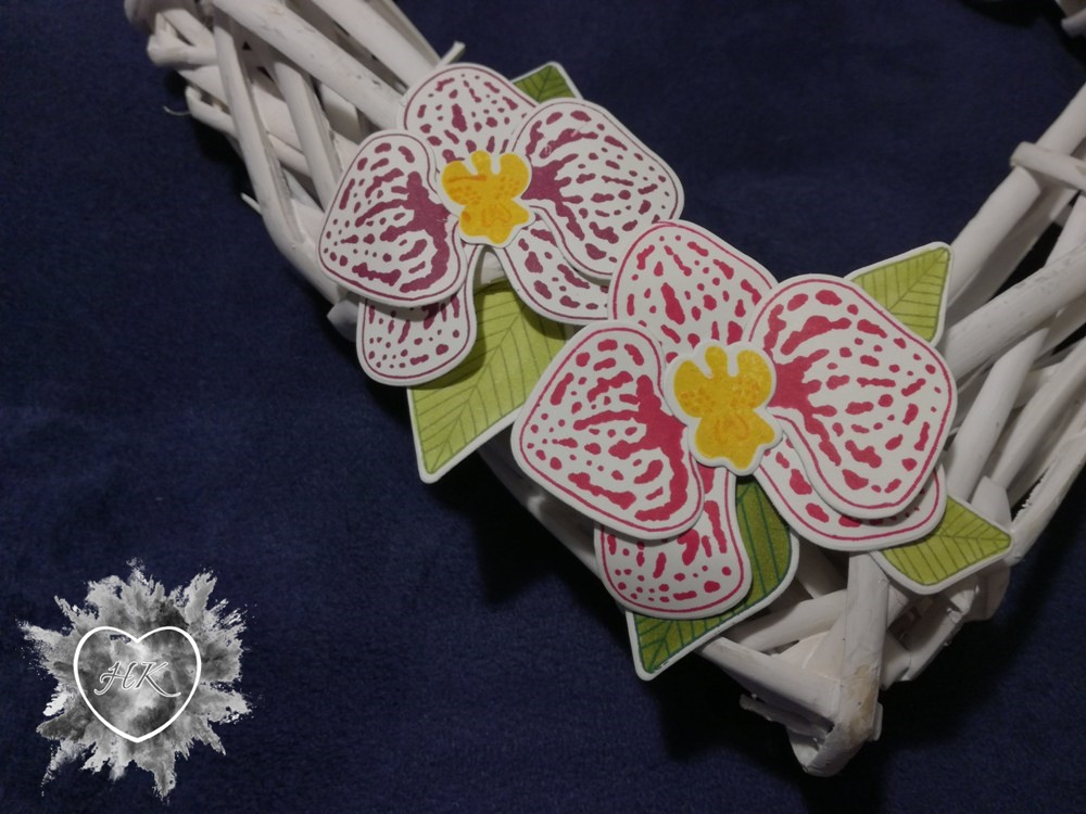 Stampin' Up, Dekoration, Orchideenzweig