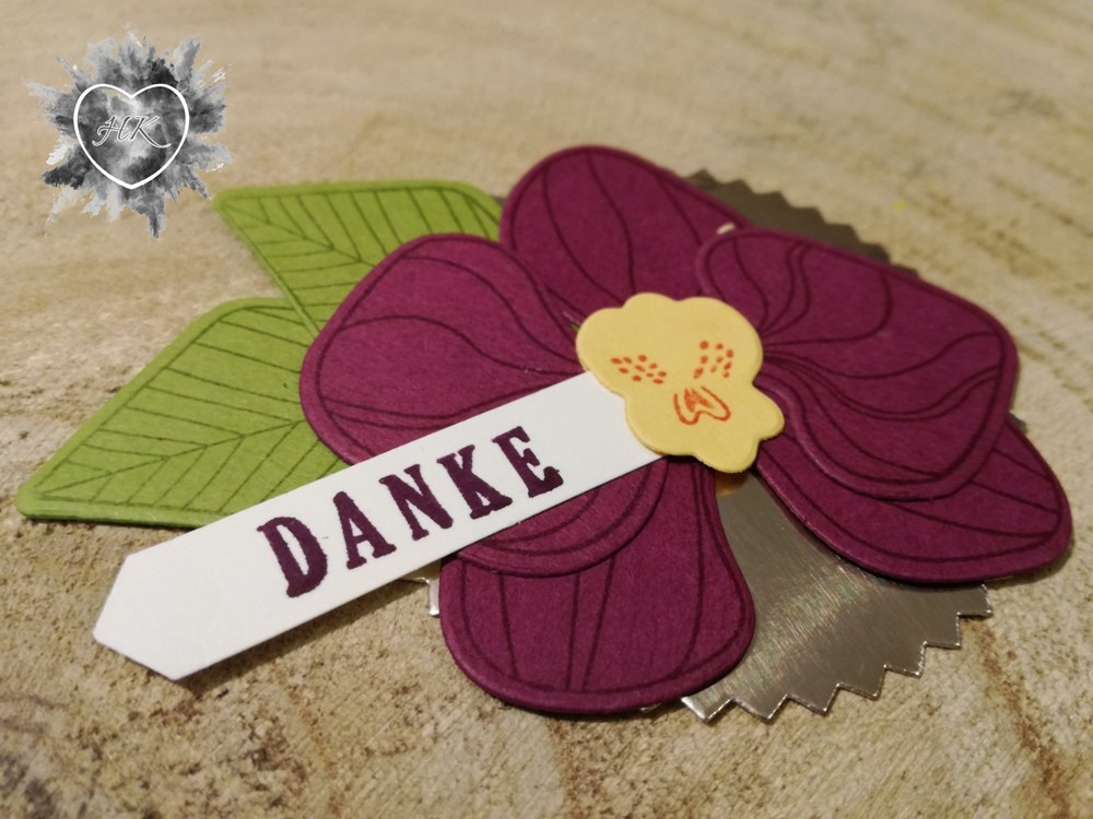 Stampin' Up!, Orchideen, Danke, Sonne
