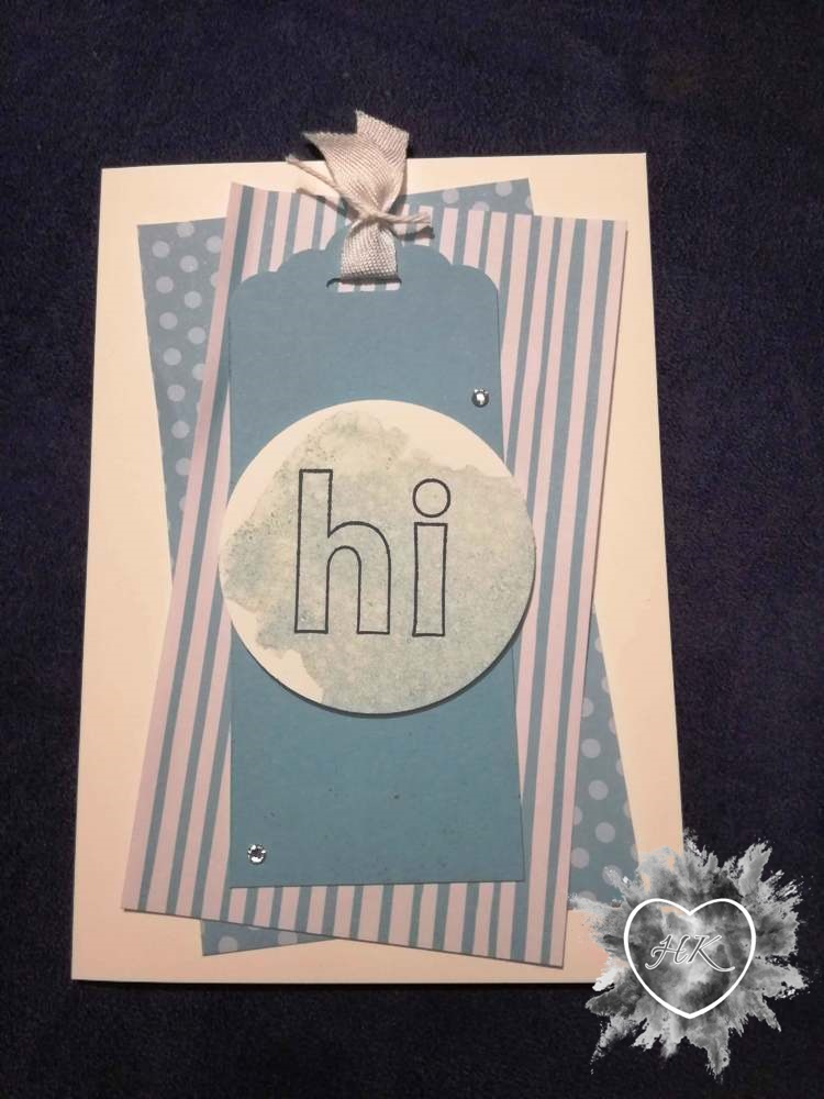 Stampin' Up!, Karte, hi