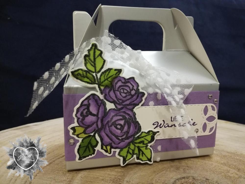 Stampin' Up!, Blütentraum Verpackung, Bestickte Etiketten