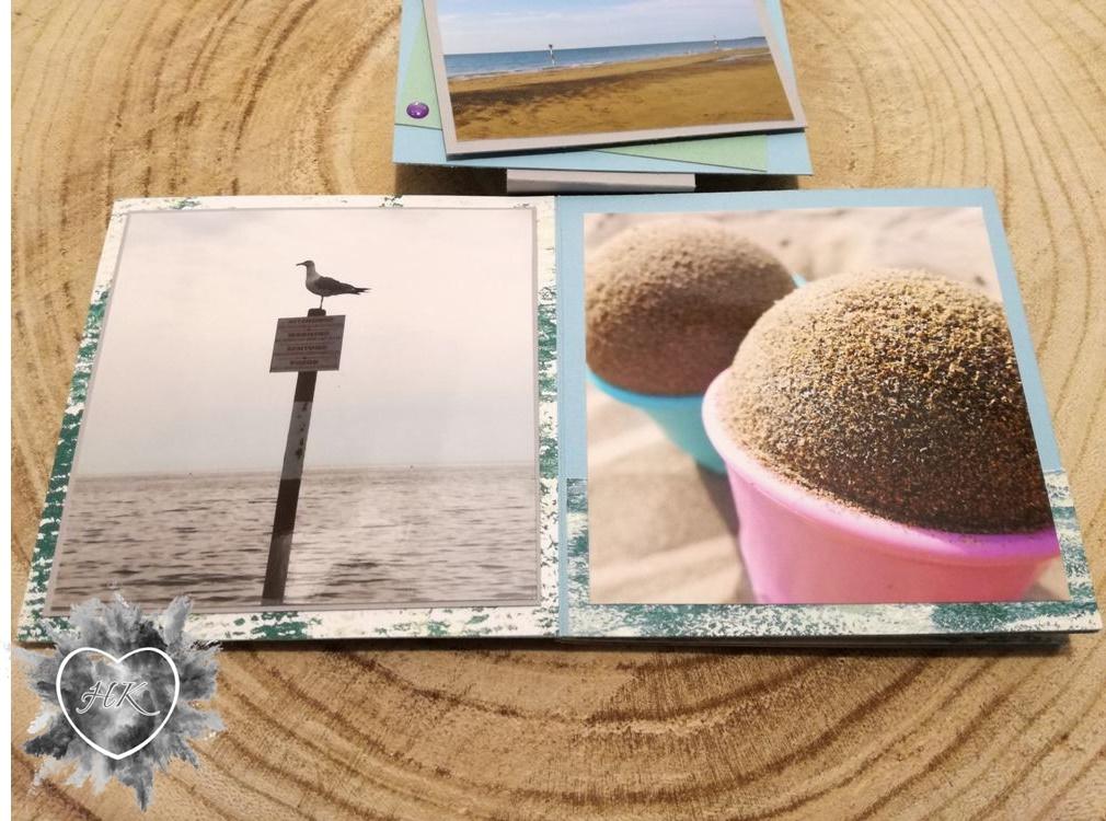 Stampin' Up!, Urlaub, Leporello, Minialbum, Traum vom Meer