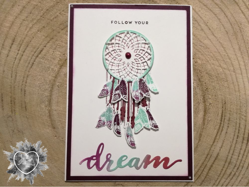 Stampin' Up!, Karte, Follow your dreams