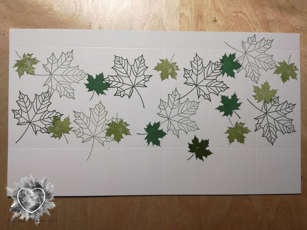 Stampin' Up!, Envelope Punch Board, Jahr voller Farben, Windlicht