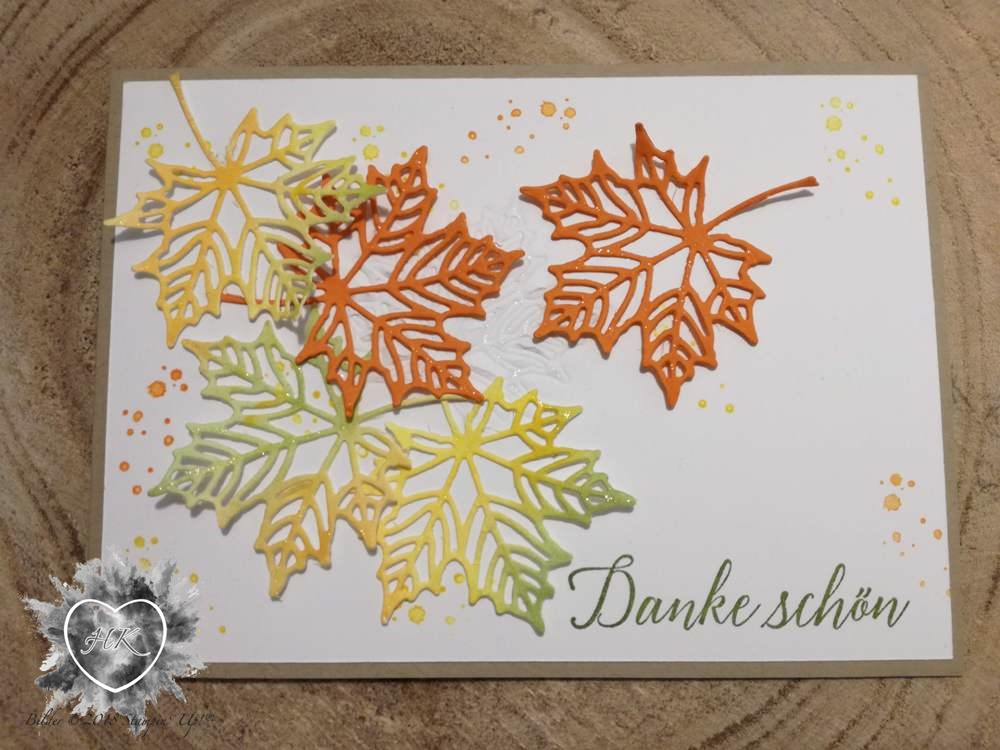 Stampin' Up!, Global Design Project, #161, Karte, Jahr voller Farben