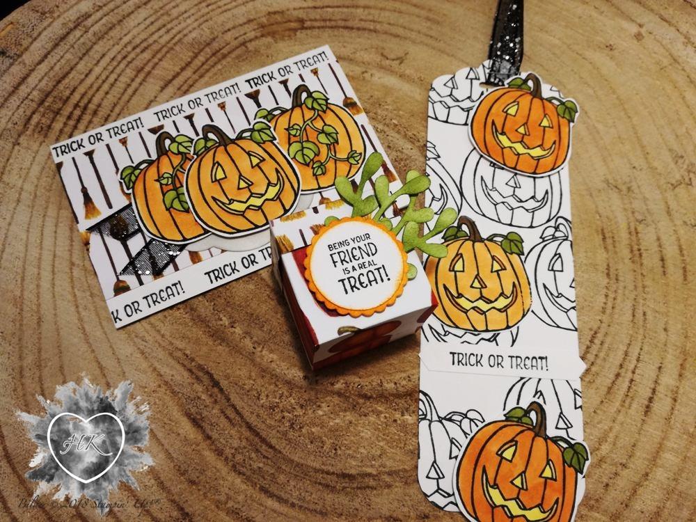 Stampin' Up!, Karte, Verpackung, Halloween