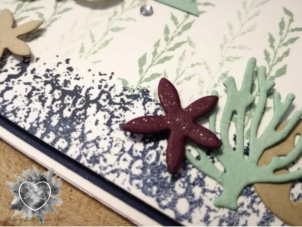 Stampin' Up!, Karte, GDP, Glück und Meer, Under the sea