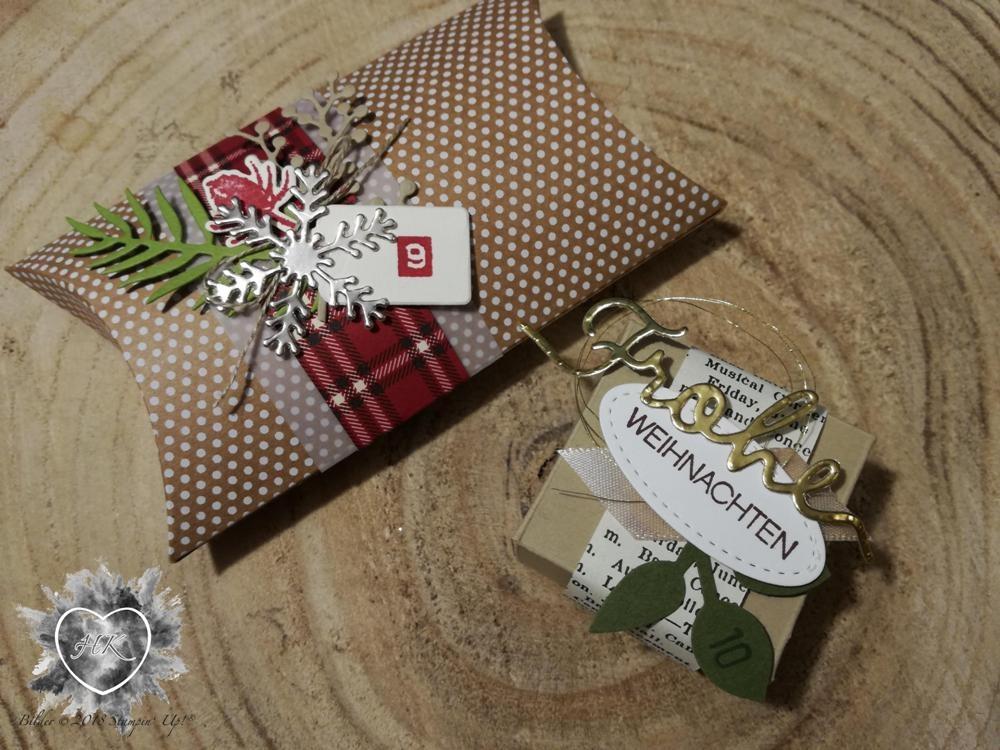 Stampin' Up!, Verpackung. Adventskalender