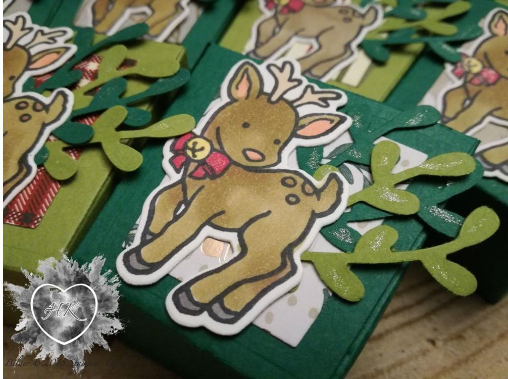 Stampin' Up!, Verpackung, zum Mitnehmen, Adventskalender