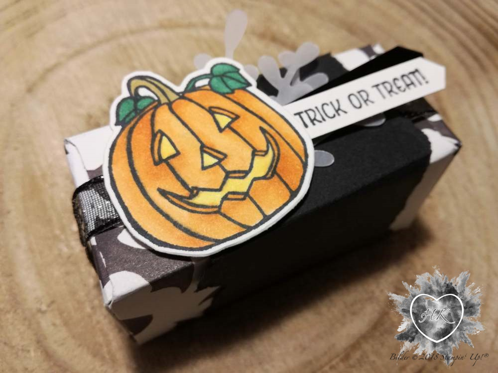 Stampin' Up!, Envelope Punch Board, Halloween, Verpackung