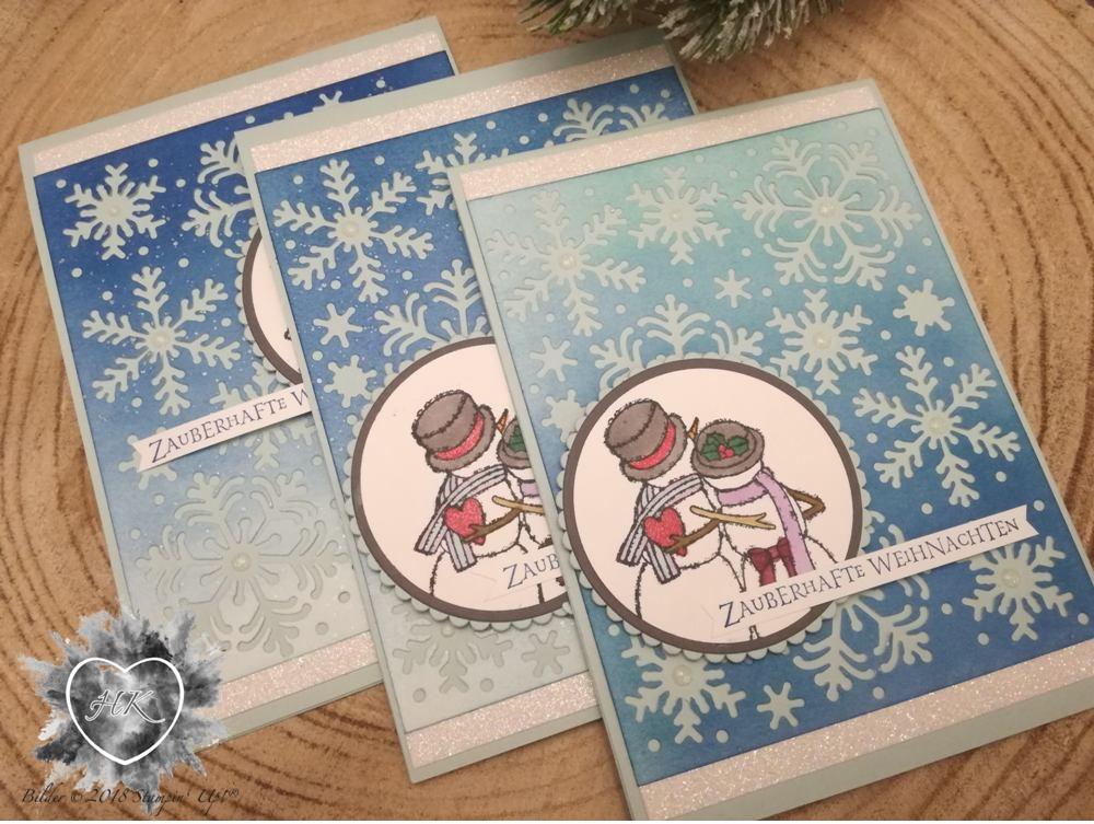 Stampin' Up!, Karte; Snowmen;