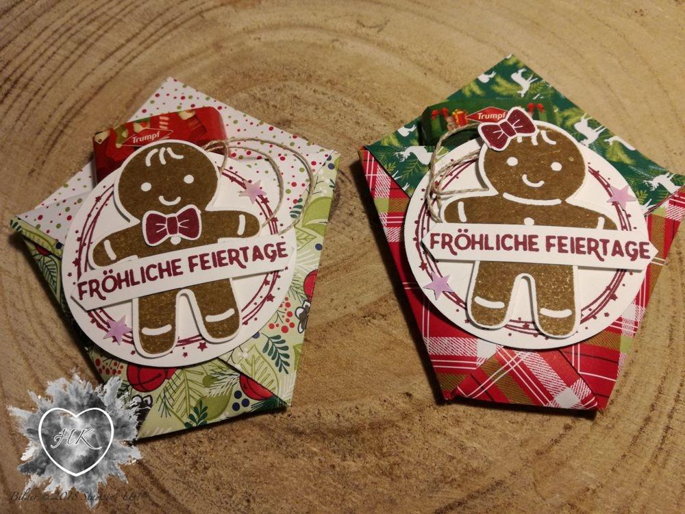 Stampin' Up!; Ausgestochen weihnactlich; Lebkuchenmann; Verpackung