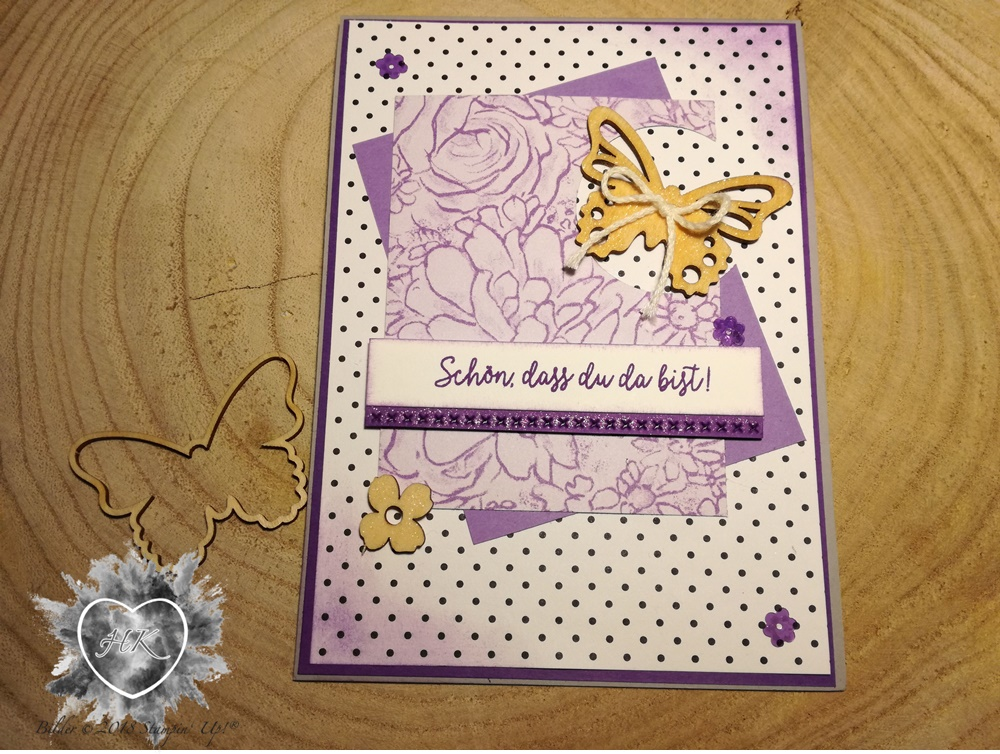 Stampin' Up!; Schmetterling; Karte