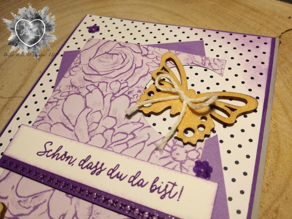 Stampin' Up!; Schmetterling; Karte