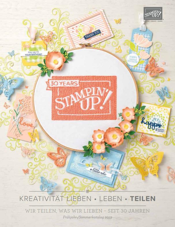 Stampin' Up!, Katalog, Frühling; Sommer;