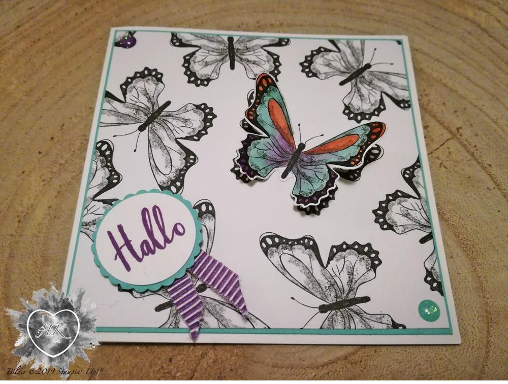 Stampin' Up!; Schmetterlingsvielfalt; Schmetterlingsgruß; Schmetterlingsduett
