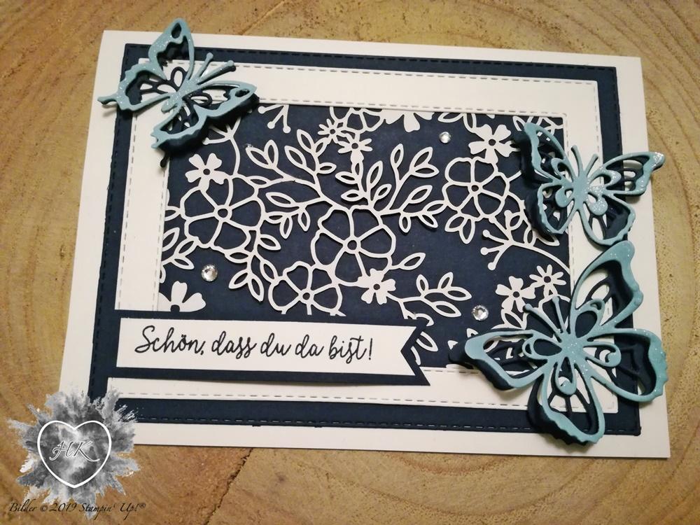 Stampin' Up!, Schöne Schmetterlinge; Karte;