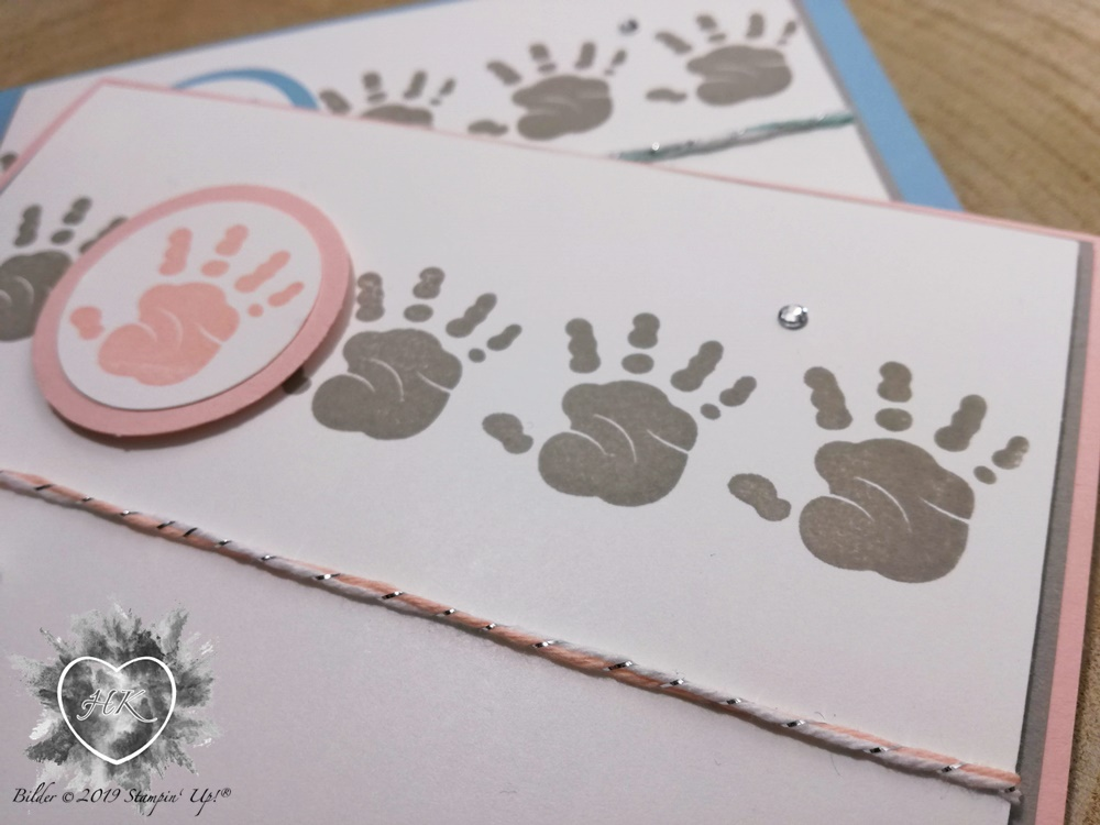Stampin' Up!, Babykarte; First Steps