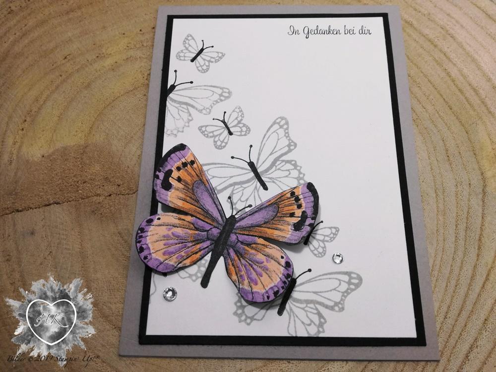 Stampin' Up!; Sale-a-Bration; Schmetterlingsvielfalt; Schmetterlingsduett