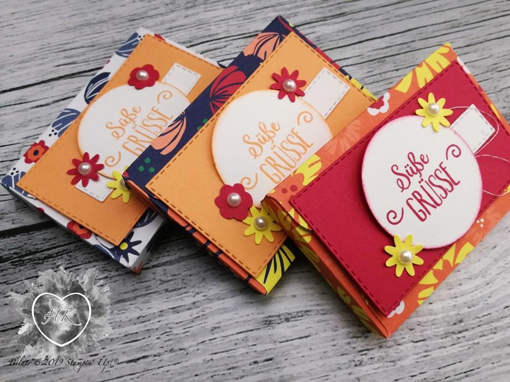 Stampin' Up!; Sale-a-Bration; Envelope Punch Board ; Blütenfantasie; Süße Grüße für dich