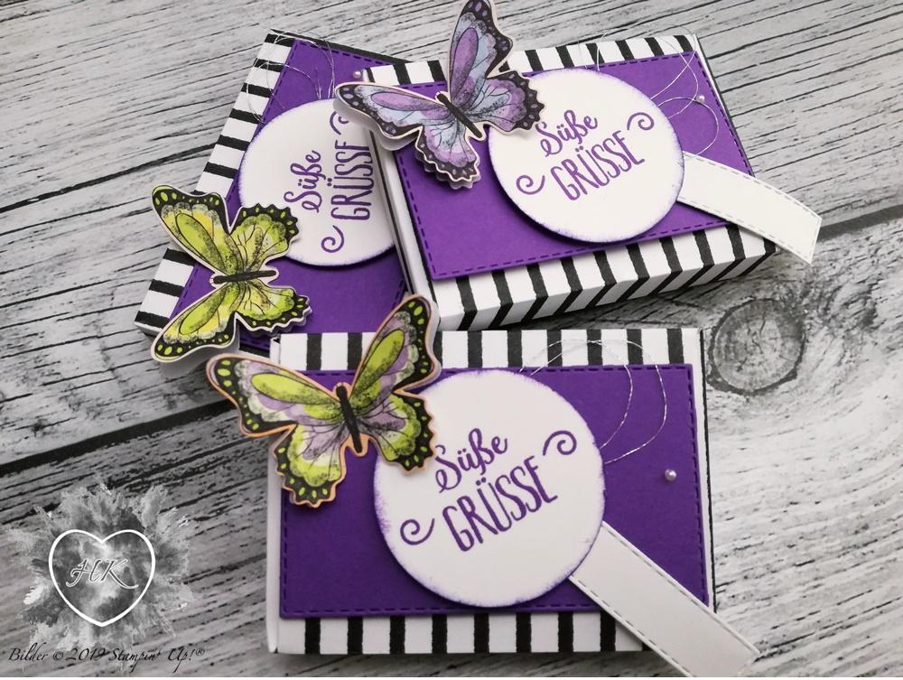 Stampin' Up!; Sale-a-Bration; Schmetterlingsvielfalt; Schmetterlingsduett; Süße Grüße für dich