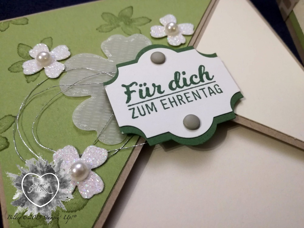 Stampin' Up!; Explosionsbox; Geburtstag