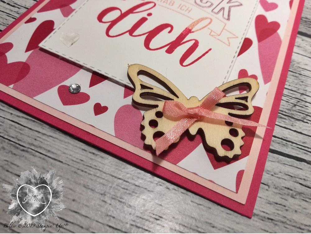 Stampin' p!, In Liebe; Valentinstag; Glücksfälle