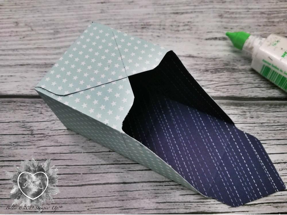 Stampin' Up!, Envelope Punch Board; Strohhalmbox; First steps; Sternstunden