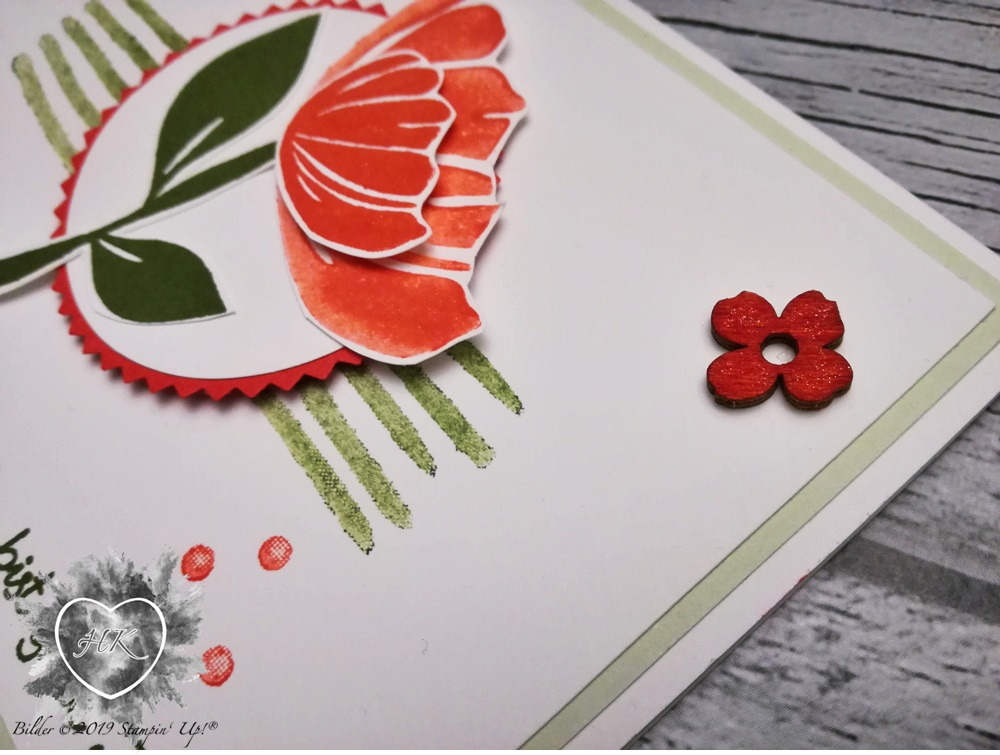 Stampin' Up!, Karte; Bloom by bloom, Alles was Freude macht