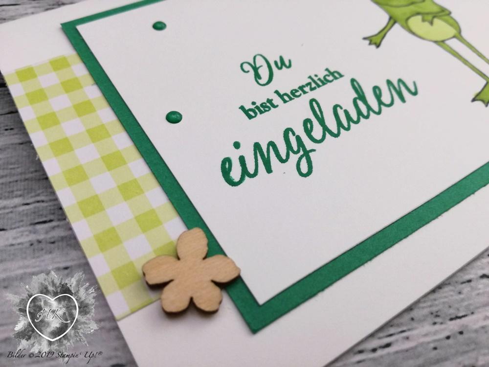 Stampin' Up!, Sale-a-Bration, Froschkönig; Gartenglück; Kleiner Wunscherfüller,