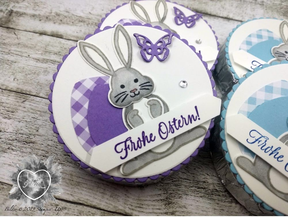 Stampin' Up!, Ostern, Hase, Luftballons