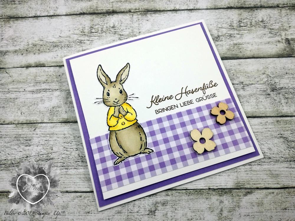 Stampin' Up!, Ostern, Sale-a-Bration; Fable Friends, Süßes Häschen
