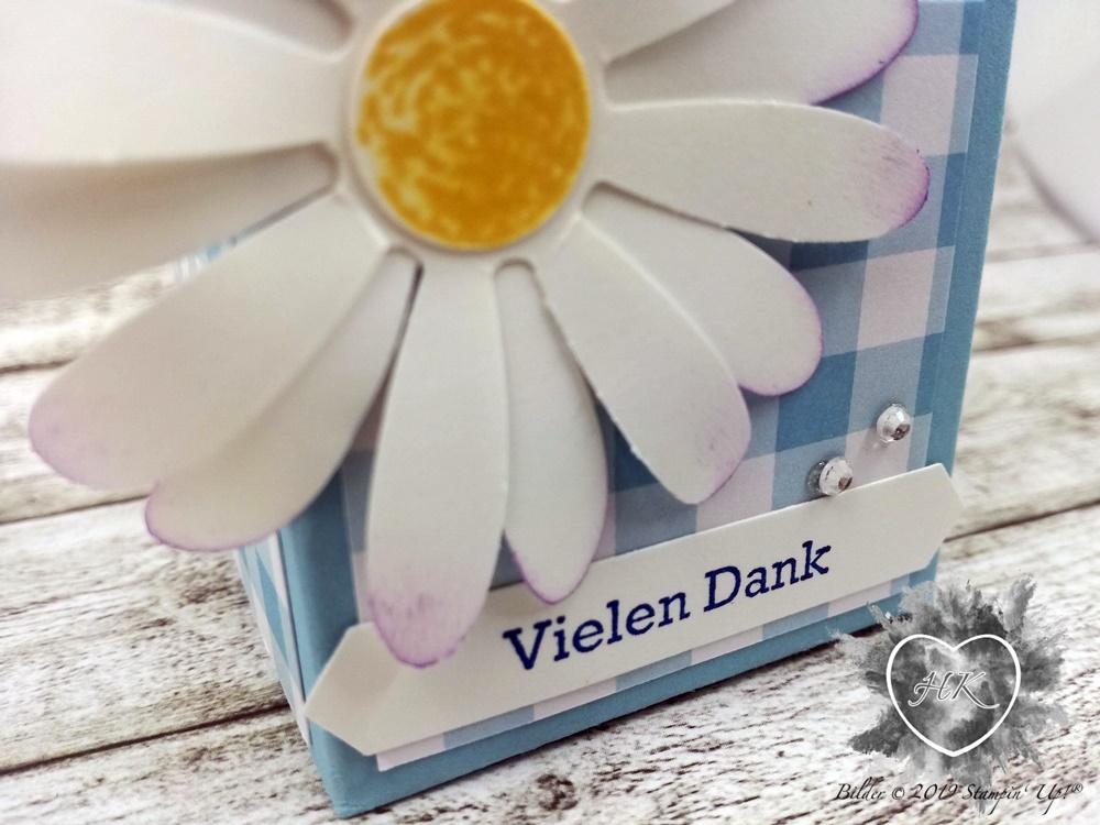 Stampin' Up!, Verpackung; Milchkarton; Gänseblümchen