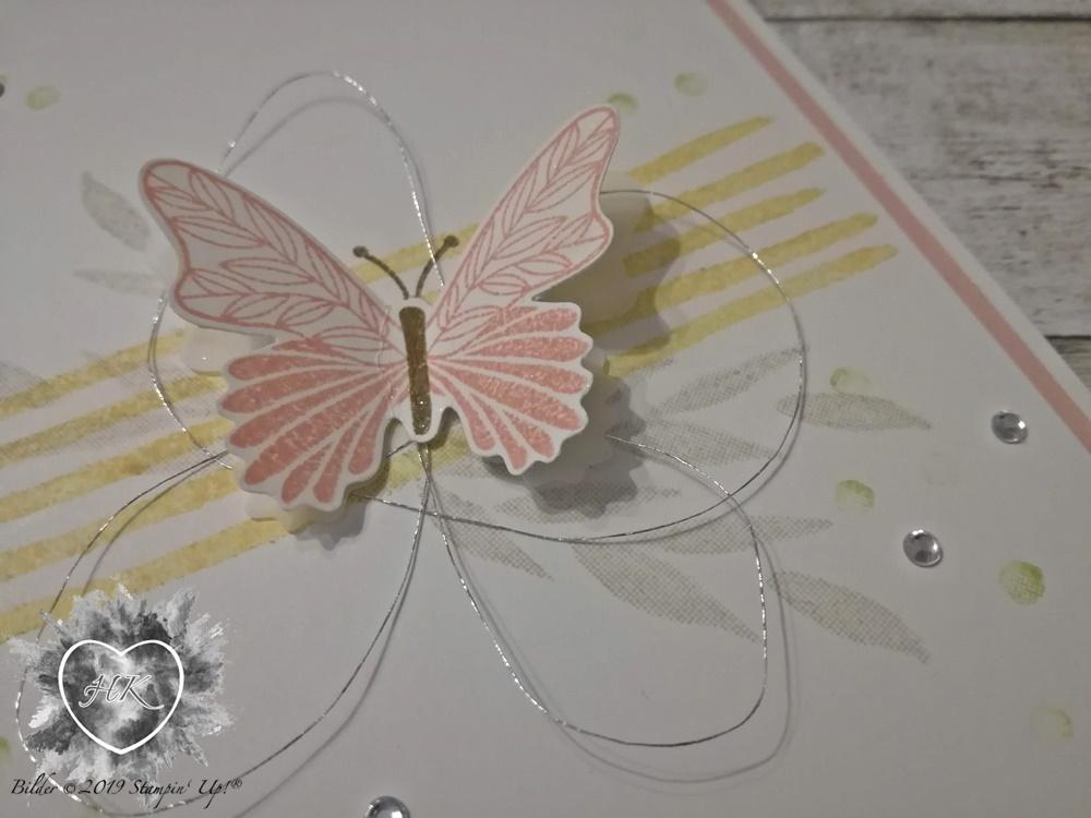Stampin' Up!, Alles was Freude macht, Schmetterling, Schmetterlingsglück, Karte