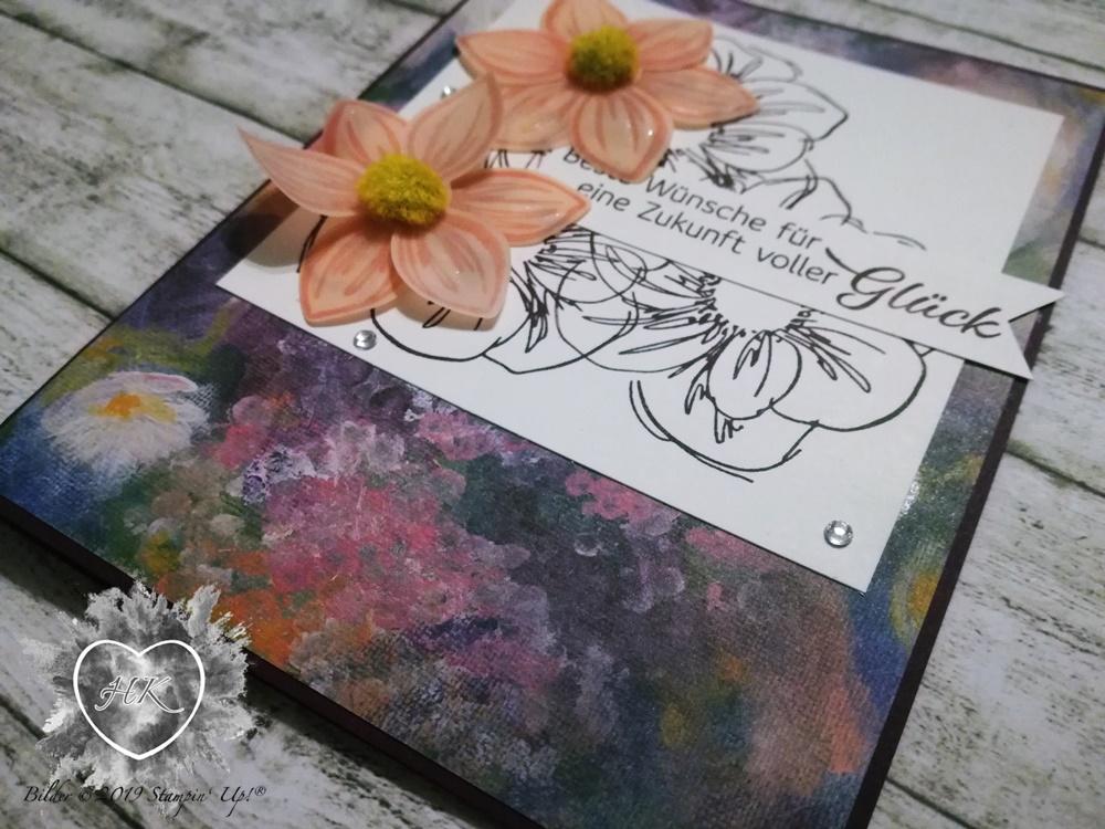Stampin' Up!, Karte; Florale Träume, Florale Freude