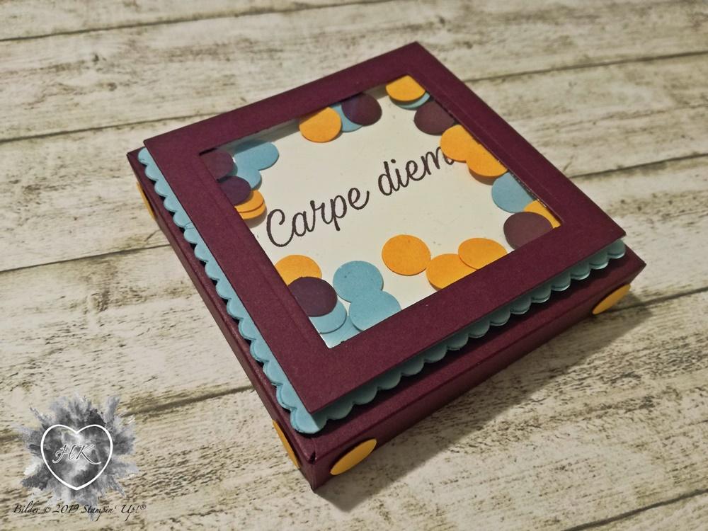 Stampin' Up!, Verpackung; Envelope Punch Board, Gänseblümchenglück