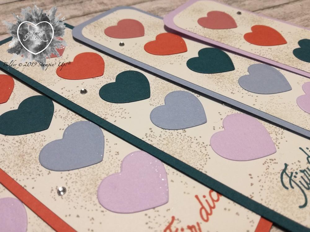 Stampin' Up!, Incolor Farben; Voller Schönheit, Herzen