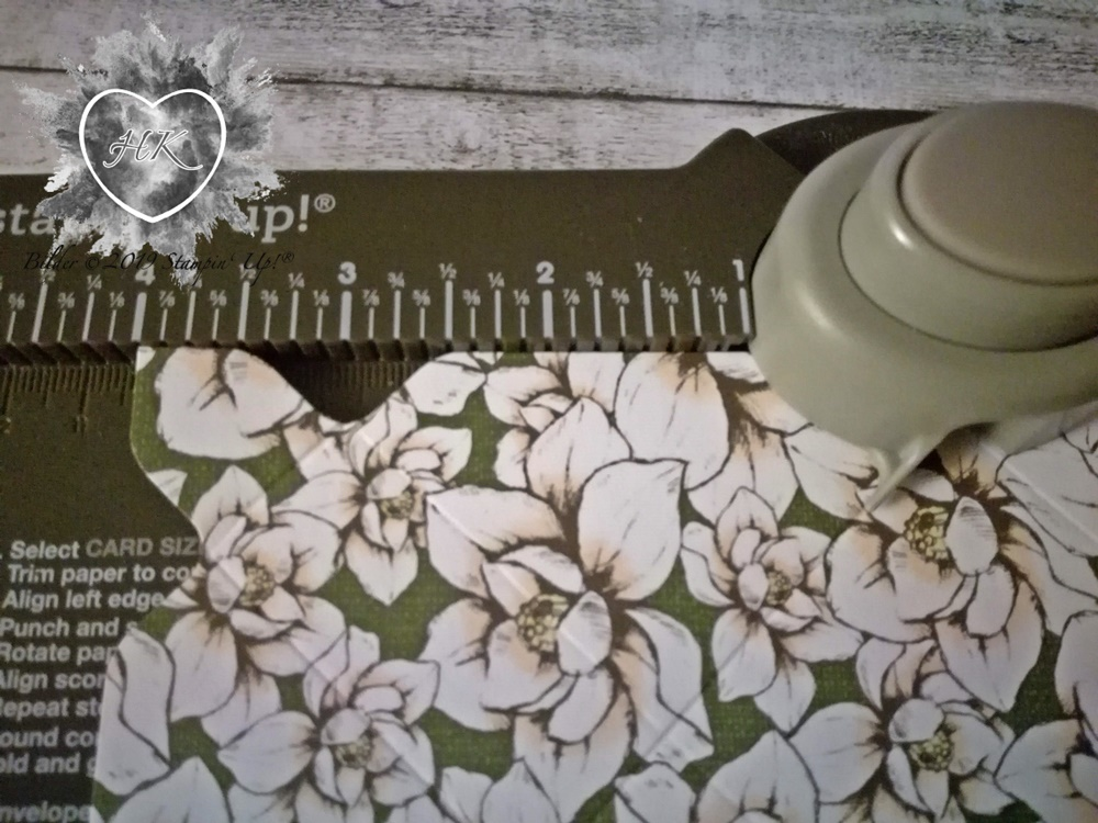 Stampin' Up!, Magnolienweg; Magnoliengruß; Envelope Punch Board