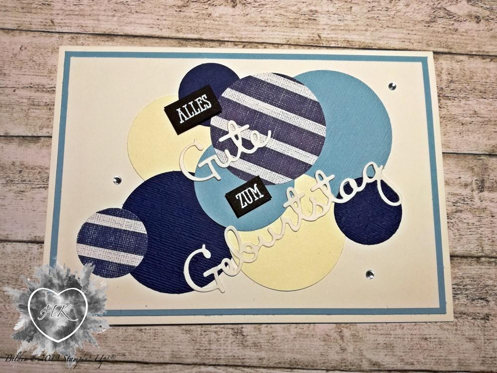 Stampin' Up!, Karte; Geburtstag, Meer der Möglichkeiten
